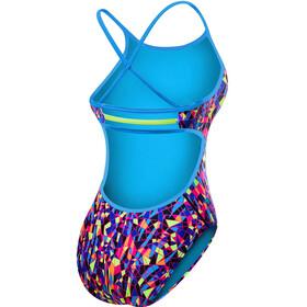 TYR Santa Marta Trinityfit Swimsuit Women Purple/Yellow